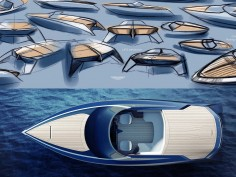 Aston Martin shows powerboat design at Milan Design Week