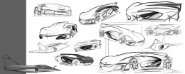 Bell and Ross AeroGT Concept - Design Sketches