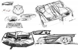 Bell and Ross AeroGT Concept - Design Sketches by Adriene Sene