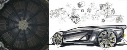 Bell and Ross AeroGT Concept - Wheel Design Sketches