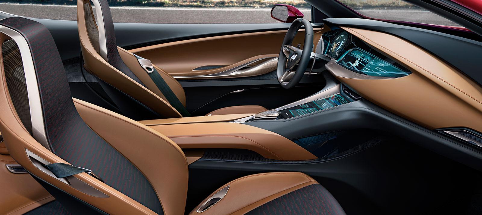 buick avista concept interior in signet color car body design. Black Bedroom Furniture Sets. Home Design Ideas