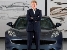 Fisker discusses Tesla