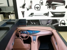 Interior design process at Buick: the role of clay sculpting