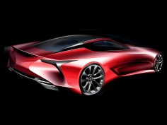 Lexus LC: from concept to production