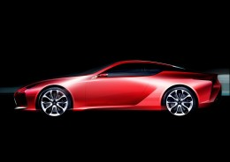 Lexus LC - Design Sketch