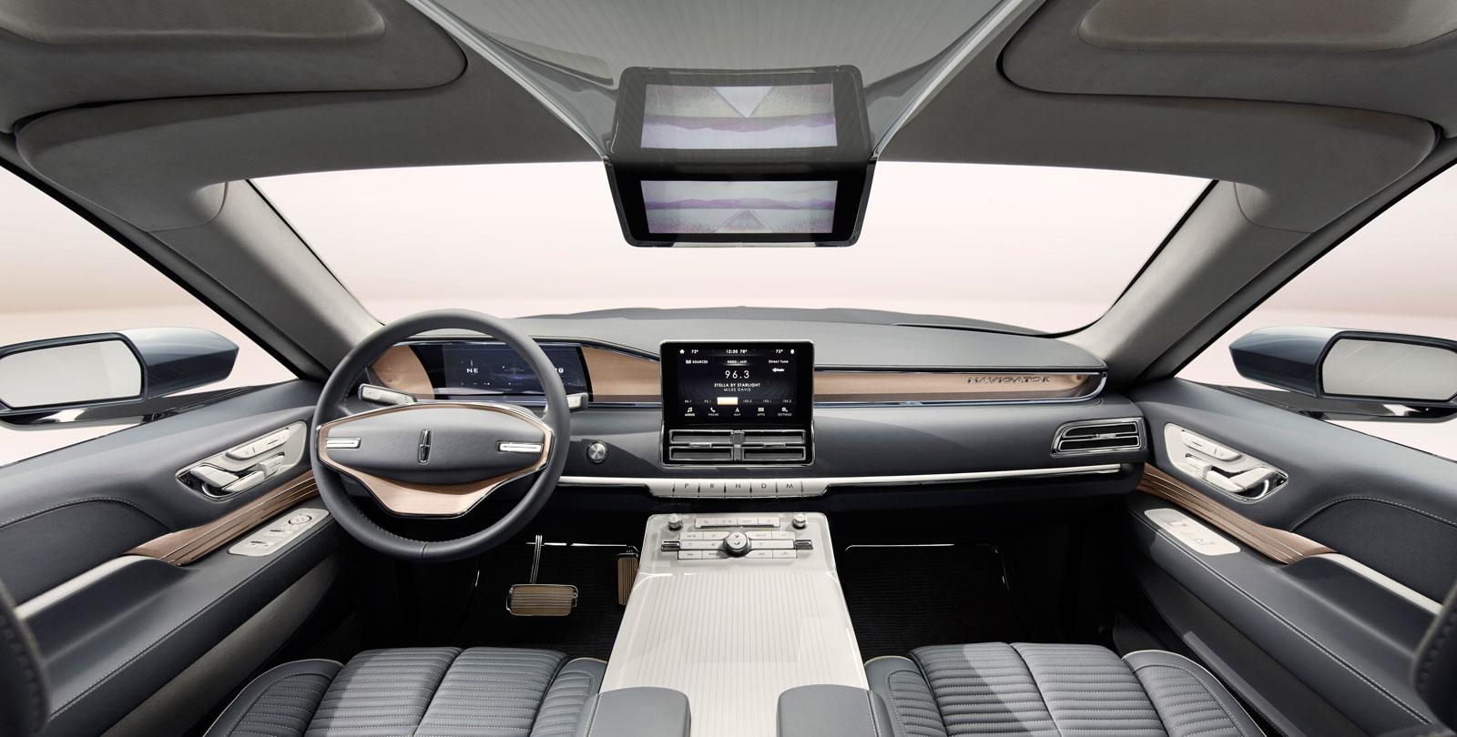 Lincoln Navigator Concept Interior Car Body Design