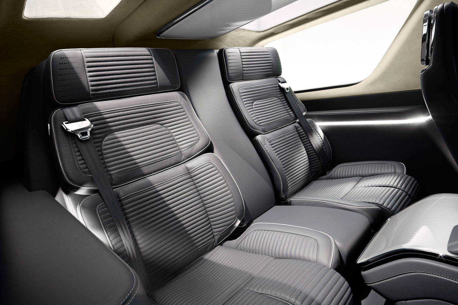 Lincoln navigator concept interior