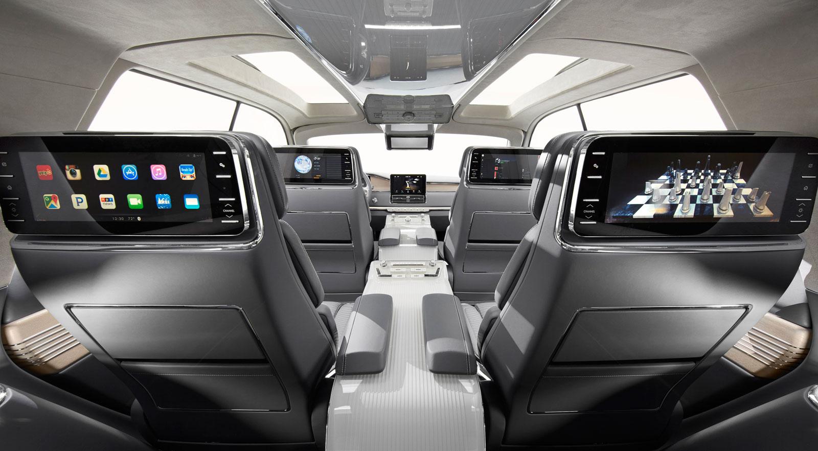 Lincoln navigator concept interior car body design lincoln navigator concept interior sciox Gallery