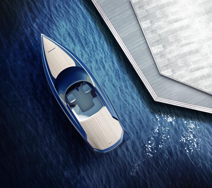 Aston Martin Shows Powerboat Design At Milan Design Week