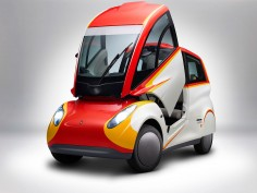 Shell reveals city car concept designed by Gordon Murray