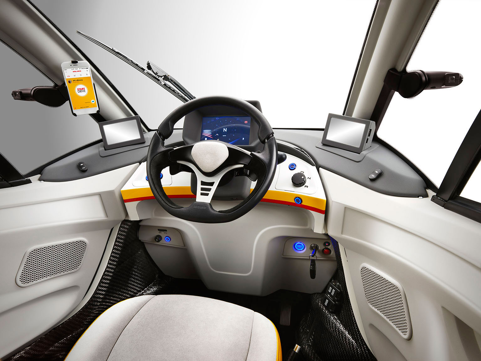 shell reveals city car concept designed by gordon murray car body design. Black Bedroom Furniture Sets. Home Design Ideas