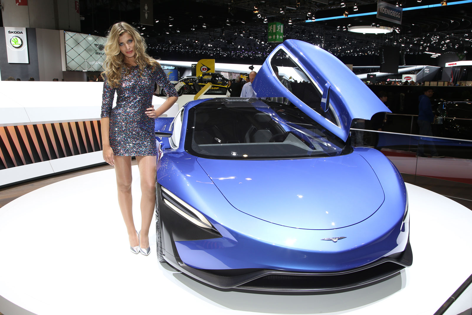 2016 Techrules At96 Trev Supercar Concept: Techrules GT96 TREV Supercar Concept At Geneva 2016