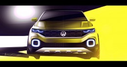 Volkswagen T-Cross Breeze Concept - Design Sketch Render