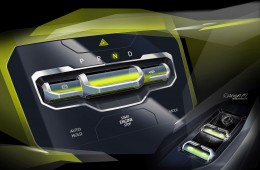 Volkswagen T-Cross Breeze Concept - Interior Design Sketch Render