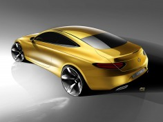 Mercedes-Benz C-Class Coupé: design gallery