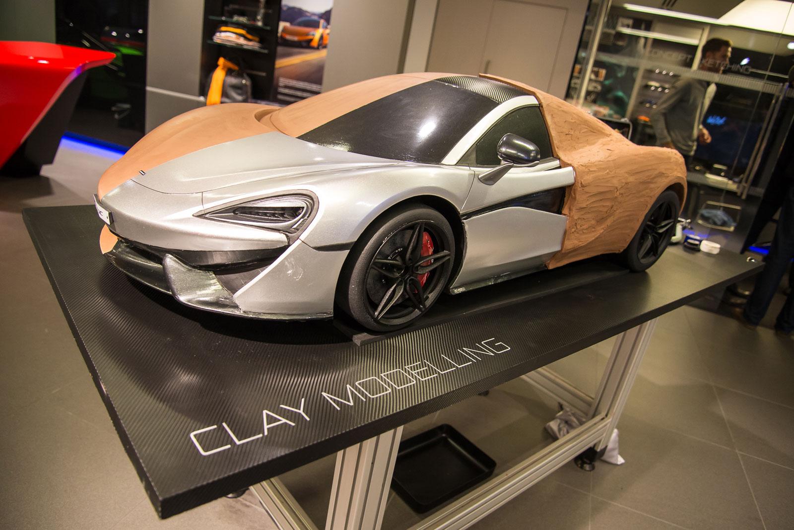 Mclaren Design Tour Event Scale Clay Model Car Body Design