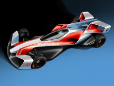 Pininfarina and Mahindra reveal concept designs for Formula E racing car