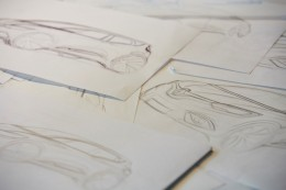 New Renault Scenic Design Sketches