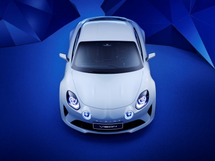 Renault Alpine Vision: the design