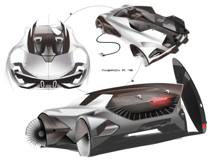 Cardesign Ru And Spd Launch Sketch Fighter 2016 Contest Car Body