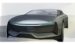 IAAD Pininfarina Molly Concept - Design Sketch Render