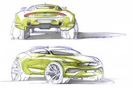 Jaguar SUV Concept Design Sketch by Denis Zhuravlev