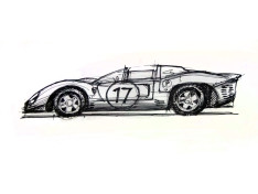 The-Art-of-Thumbnail-Sketching---Ferrari-330-P4-Design-Sketch