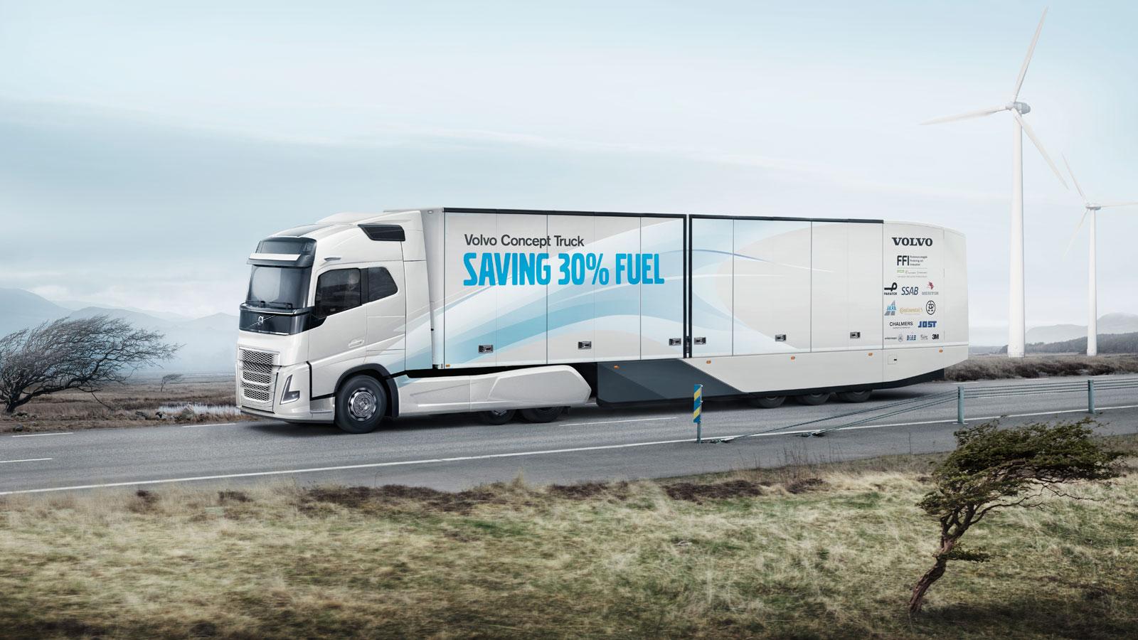Volvo Concept Truck Car Body Design