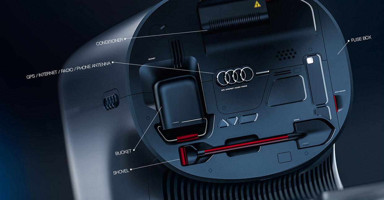 Audi Truck Concept B By Artem Smirnov And Vladimir Panchenko Car - Audi truck