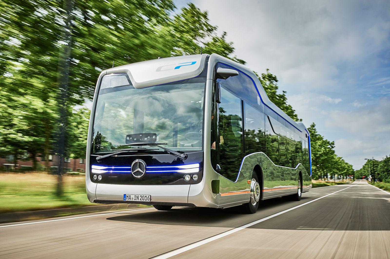 Mercedes benz future bus concept car body design for Mercedes benz transit