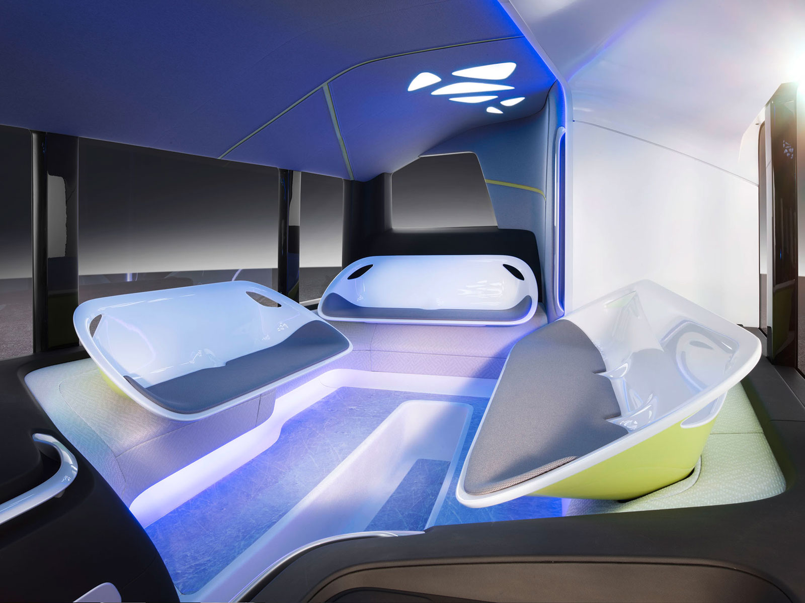 mercedes benz future bus concept interior car body design. Black Bedroom Furniture Sets. Home Design Ideas