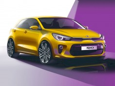 Kia previews all-new Rio with design sketches