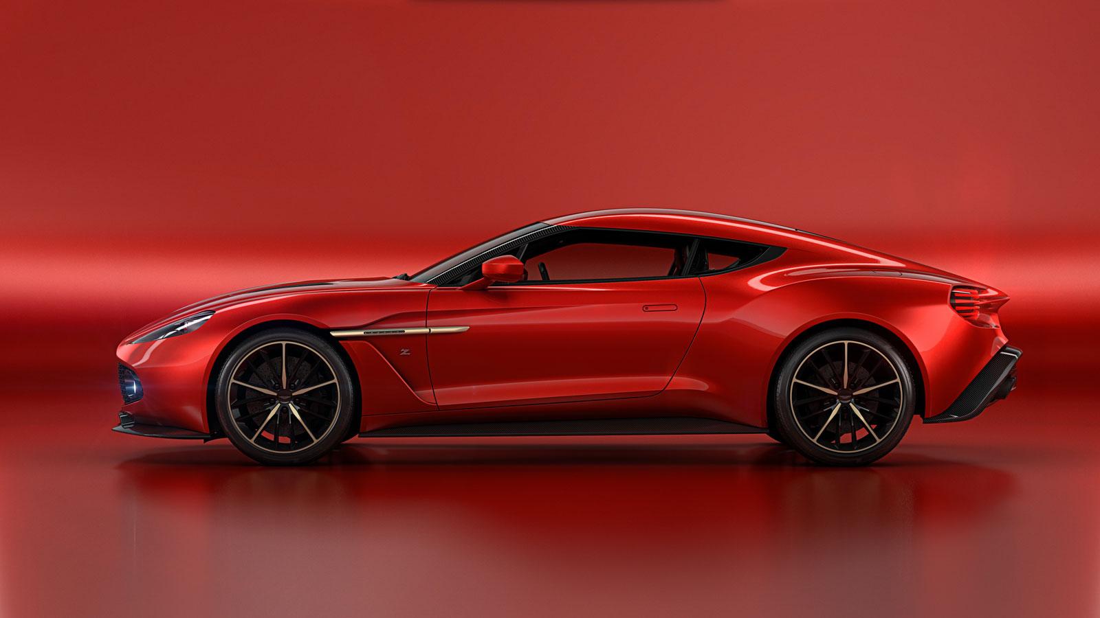 Aston Martin Vanquish Zagato Concept - Side View
