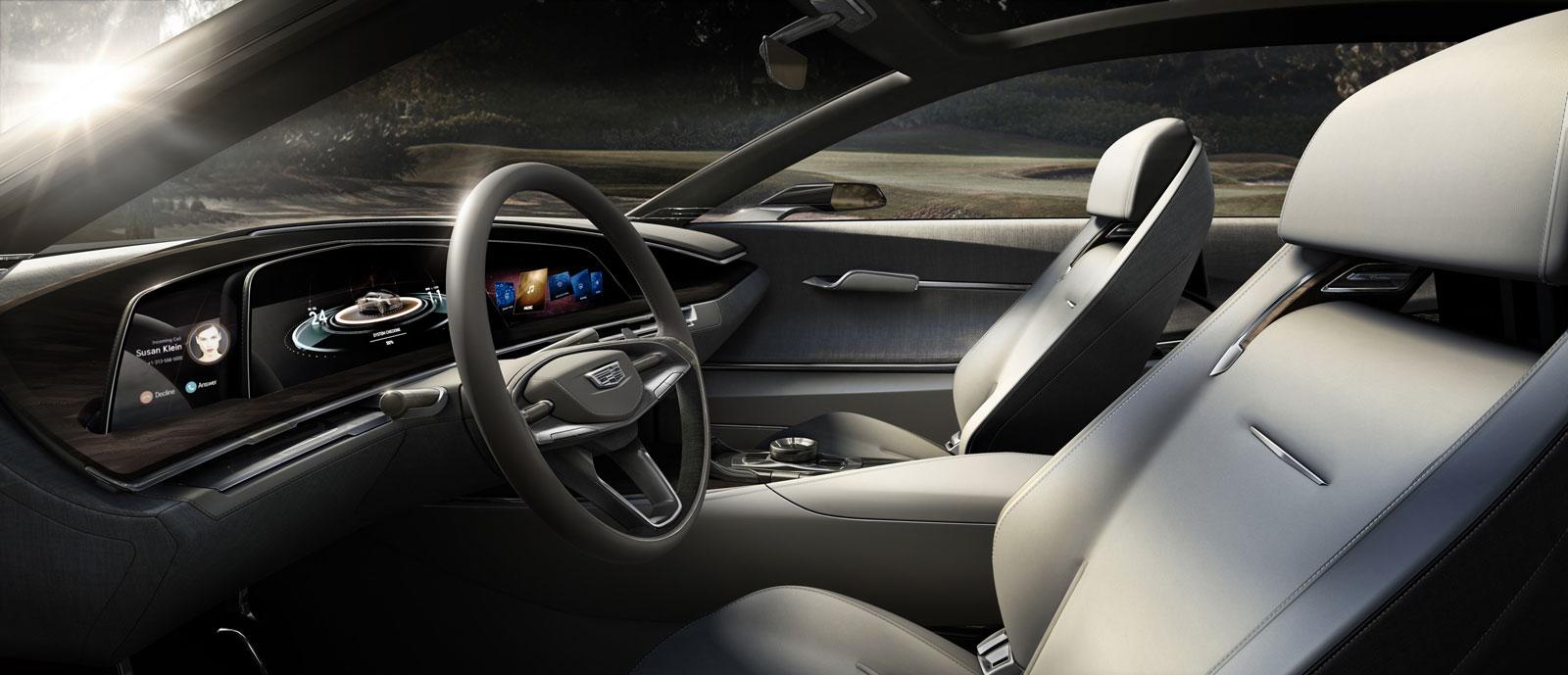 Cadillac escala concept car body design for Interieur concepts