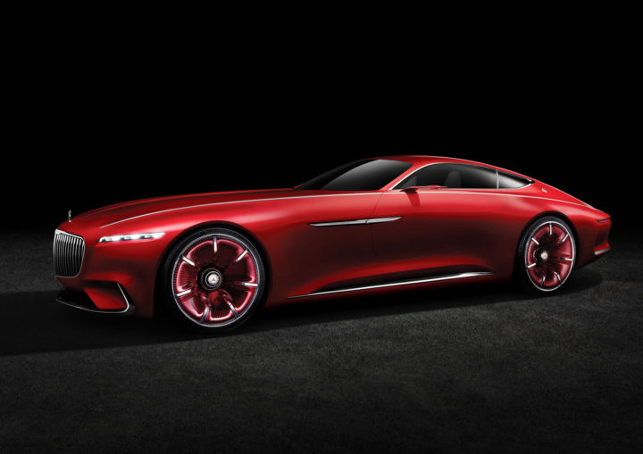 Vision mercedes maybach 6 is a six meter long electric for Mercedes benz concept electric car