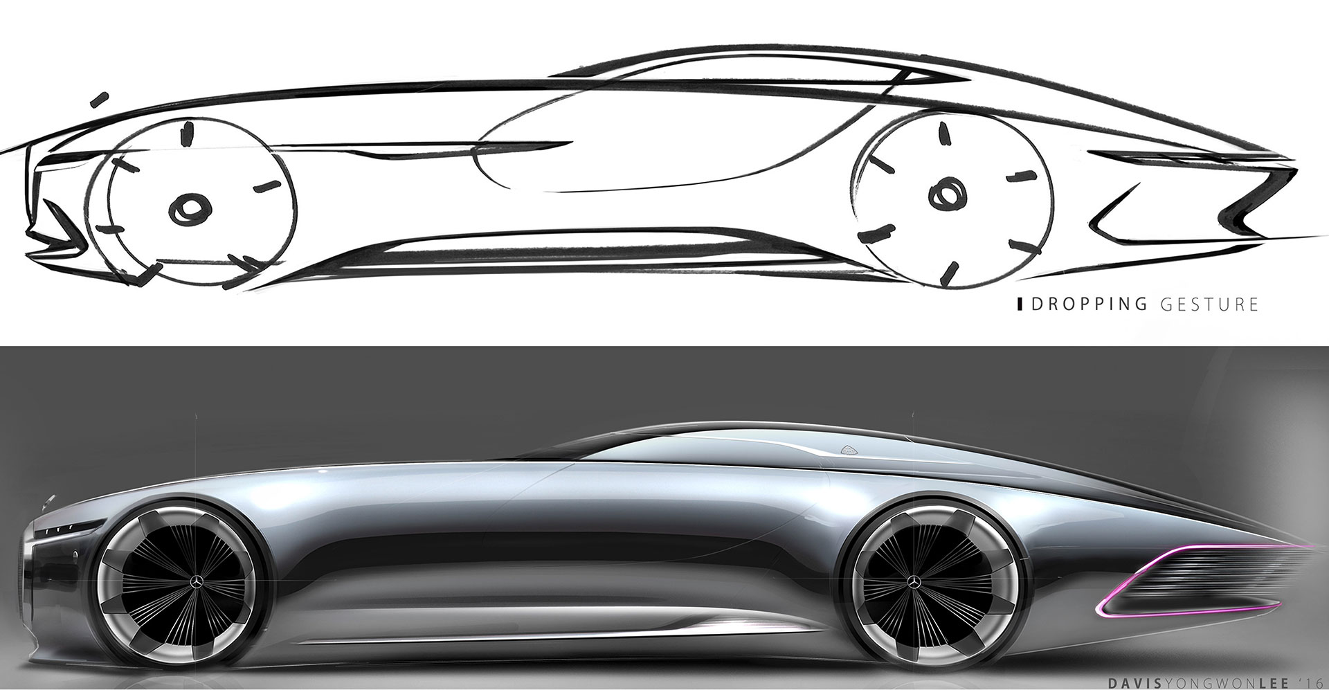 1000 bilder zu exterior sketches auf pinterest turismo for Mercedes benz auto body