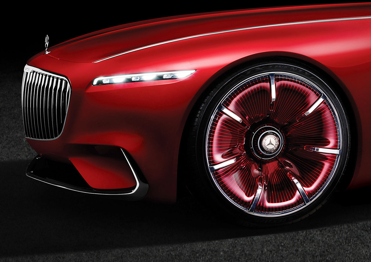 vision mercedes maybach 6 concept wheel roues. Black Bedroom Furniture Sets. Home Design Ideas