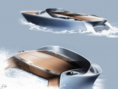 Aston Martin Powerboat: new images and updates