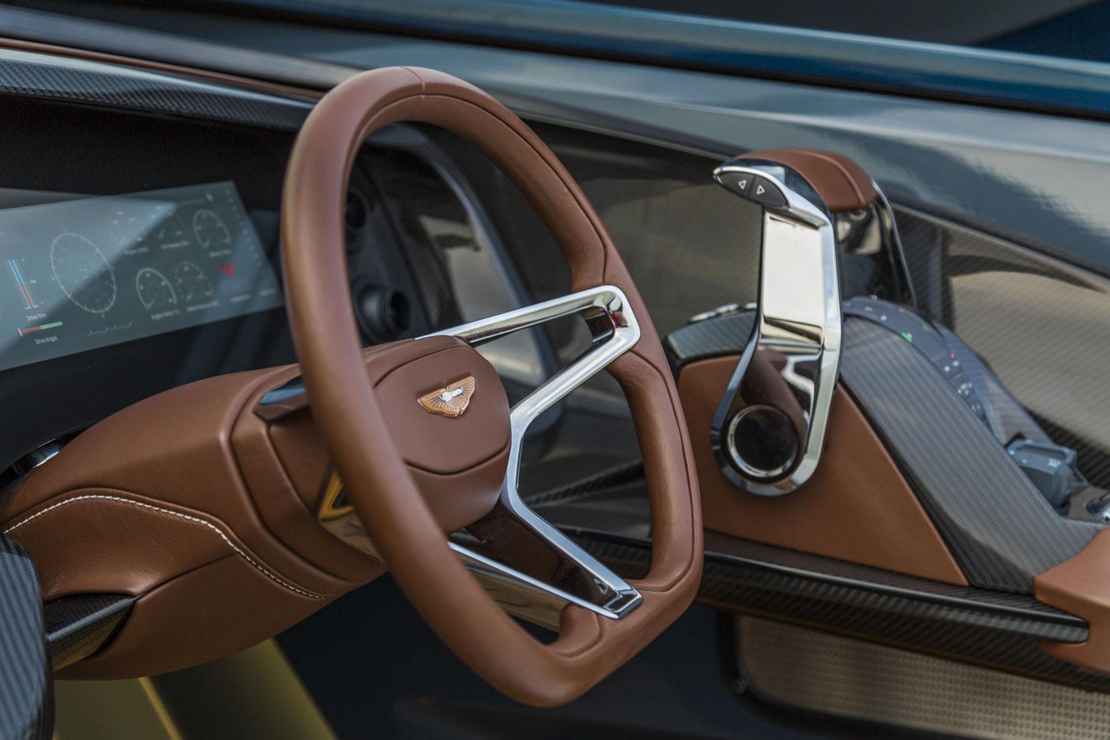 Aston Martin AM37 Powerboat Interior