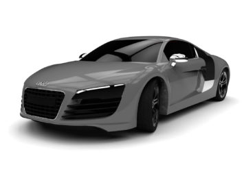 Audi R8 Free SolidWorks 3D model