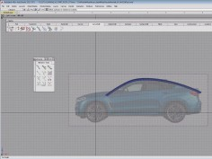 Car roof 3D modeling tutorial