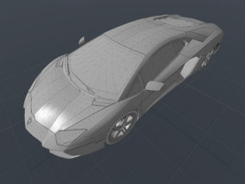 Lamborghini Aventador free 3D model - Car Body Design