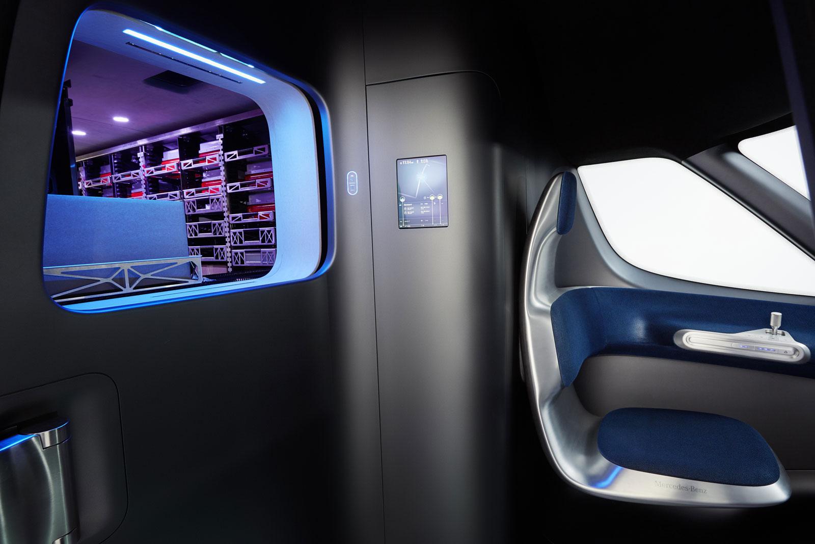 Mercedes-Benz Vision Van Concept Interior - Car Body Design