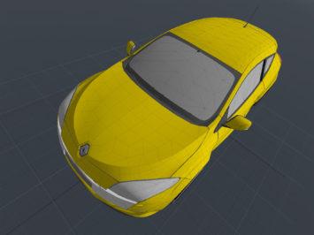 Renault Megane 3 RS free 3D model - Car Body Design