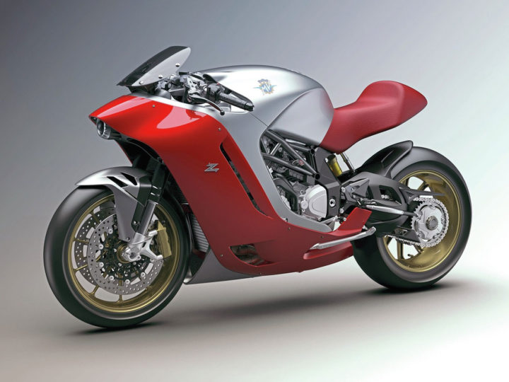 Zagato creates MV Agusta F4Z one-off motorbike