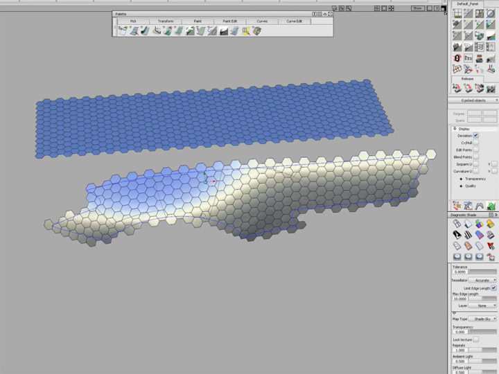 Alias Modeling – Hexagon Tile Pattern