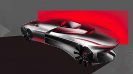 Audi Uno Concept by Gaurang Nagre Design Sketches