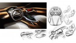 Jeep E PIC Concept by Kefeng Liu Interior Design Sketches