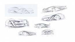 Mercedes-Benz Symphony Concept by Dominique Quinger Design Sketches