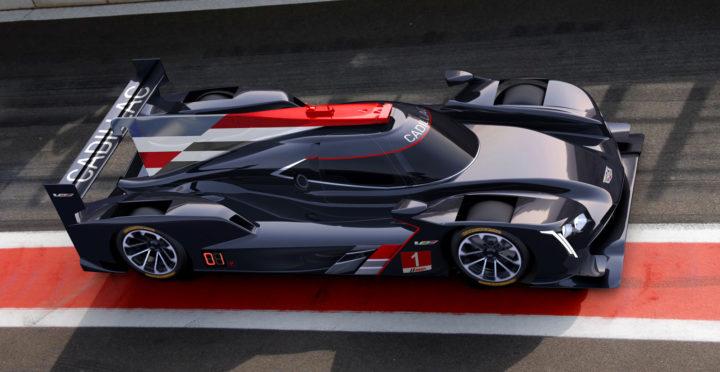 Cadillac DPi VR Race Car Design Render